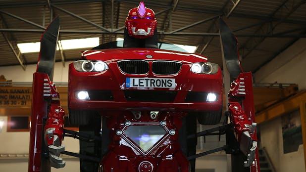 Roboter-Auto mal anders: Türkisches Startup verwandelt BMW in Transformer