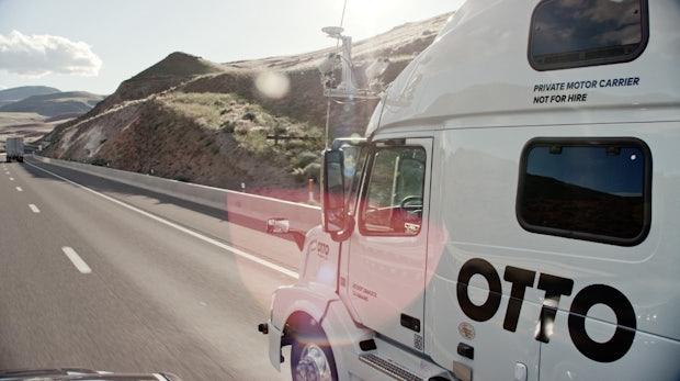 Uber will schon nächstes Jahr selbstfahrende Trucks auf die Straße bringen
