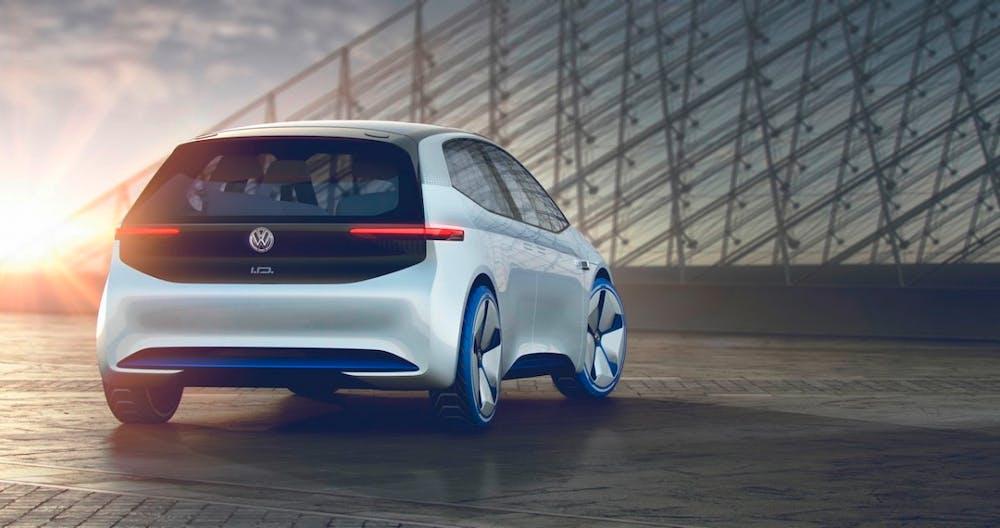 Der VW I.D. könnte der erste Volksstromer werden. (Bild: VW)