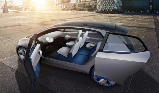 Der Volkswagen ID bietet viel Platz im Innenraum. (Bild: VW)