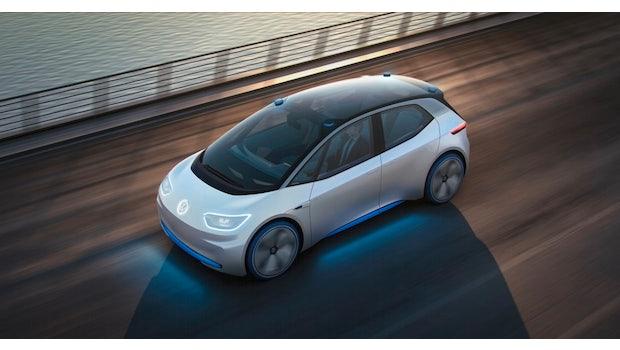 VW kann in Sachen Elektromobilität als Ankündigungsweltmeister betrachtet werden. Das erste Modell soll laut VW im Frühjahr bis Sommer 2020 vom Band rollen und dem Model 3 von Tesla Paroli bieten. Der VW I.D. soll 7.000 bis 8.000 US-Dollar günstiger als das Model 3 werden. (Bild: VW)