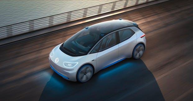Volkswagen ID: Das ist VWs erstes Fahrzeug der neuen Stromer-Flotte