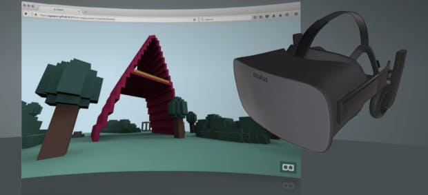 Die WebVR 1.0 ist ab jetzt im Firefox Nightly umgesetzt. (Screenshot: t3n)