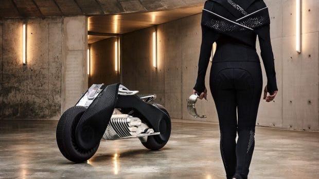 Vision Next 100: Das Motorrad der Zukunft könnte von BMW kommen. (Foto: BMW)