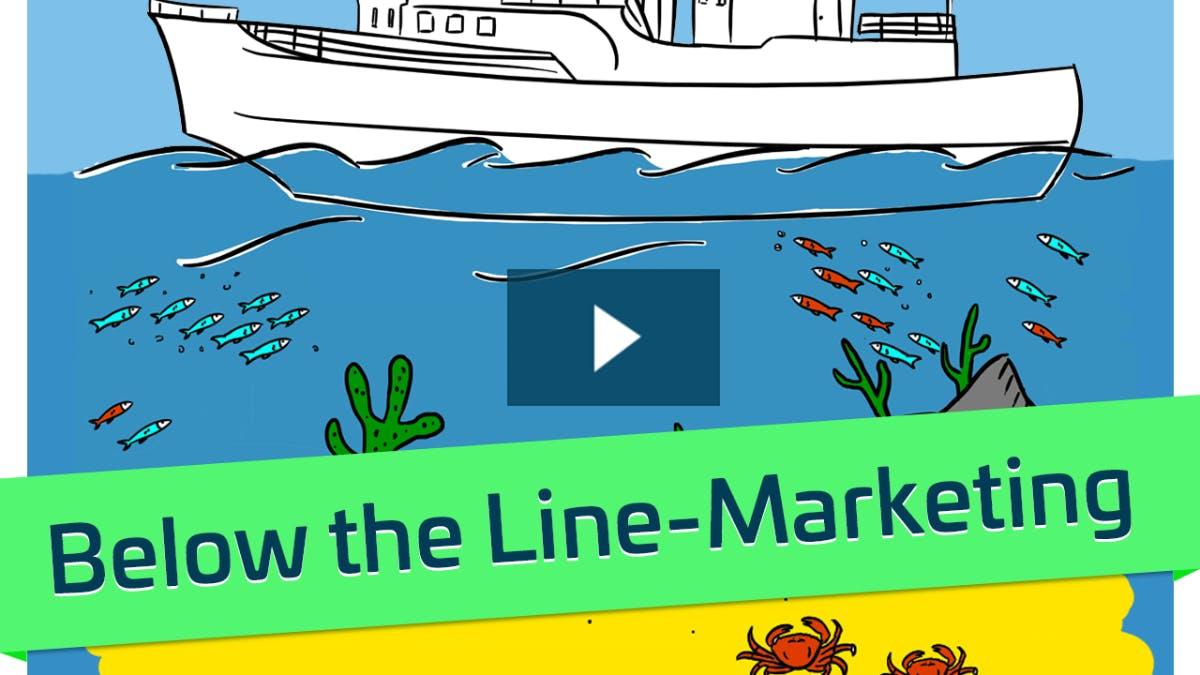 Was ist eigentlich Below-the-Line-Marketing?