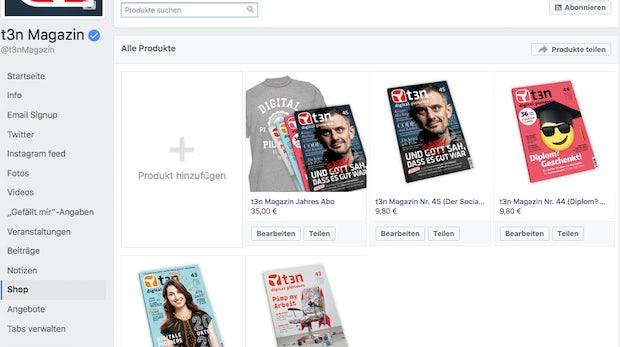 Facebook-Shop für eure Page erstellen: So geht's