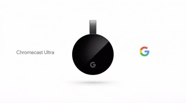 Google verpasst seinem HDMI-Streaming-Stick Chromecast Ultra 4K- und UHD-Support. (Screenshot: Youtube/t3n)