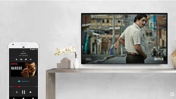 Google Chromecast Ultra. (Screenshot: Youtube/t3n)