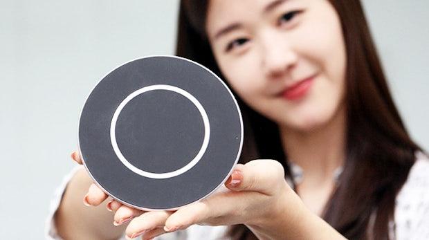 50 Prozent drahtlos laden in 30 Minuten: LG präsentiert 15-Watt-Ladepad