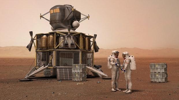 """Boeing-Boss: """"Der erste Mensch auf dem Mars wird mit einer Boeing-Rakete dorthin kommen"""""""