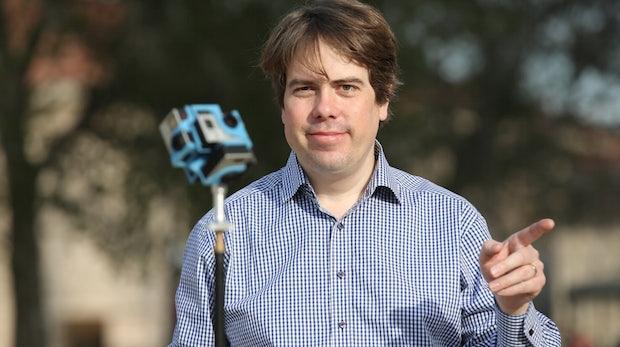 """VR-Journalist Martin Heller: """"VR ist kein Medium, VR ist ein Evolutionsschritt"""""""