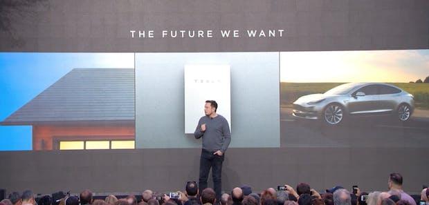 Tesla-Event: Musk stellt neue Solar-Dachziegel und Powerwall-Batterie 2.0 vor
