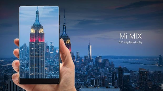 Mi Mix: Xiaomi kommt Apple und Samsung zuvor, zeigt rahmenloses Smartphone