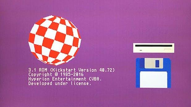 Besser spät als nie: Amiga Workbench bekommt 20 Jahre später ein Update