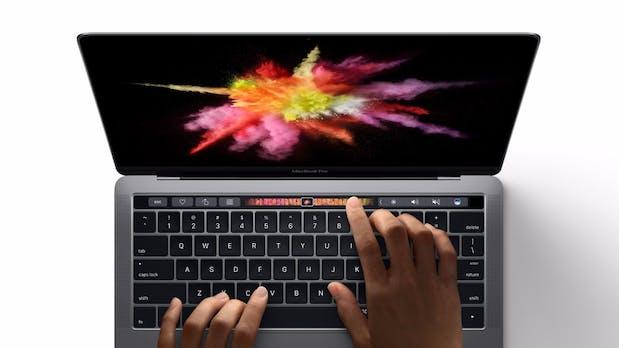 Macbook Pro (2016) ist offiziell: Kompakter, mit OLED-Leiste und TouchID
