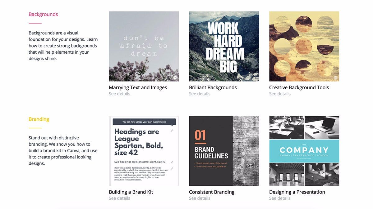 (Screenshot: designschool.canva.com)