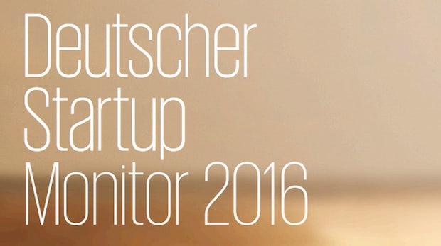 Deutscher Startup Monitor 2016: Die wichtigsten Fakten der großen Gründerstudie