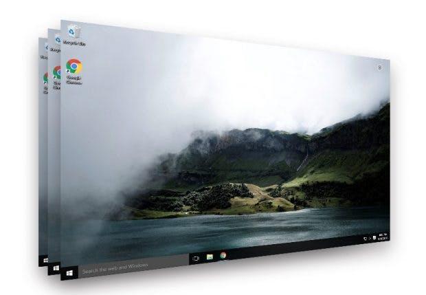 Virtualisierter Rechner: Paperspace bringt den Desktop-PC in die Cloud. (Screenshot: Paperspace/t3n)
