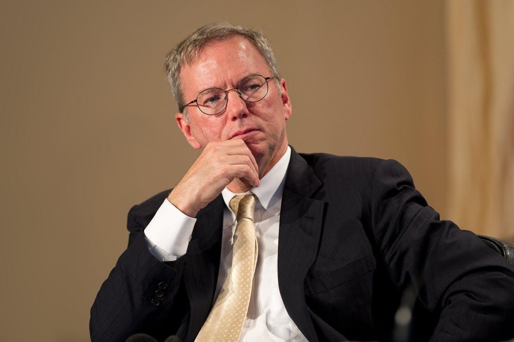 Ex-Google-Chef Schmidt gibt Chefposten im Verwaltungsrat auf