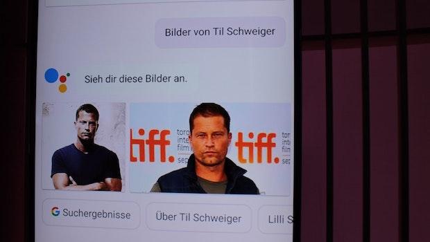 Ihr sucht Fotos einer Person? Der Google Assistant hilft euch bei der Recherche. (Foto: t3n)