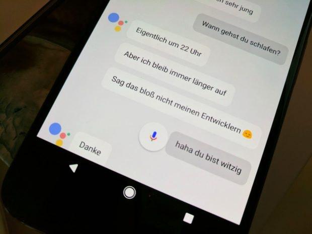 Der Google Assistant kann auch Spaß machen. (Foto: t3n)
