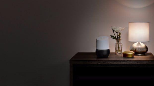 Google Home – ein weiteres neues Stück Hardware aus Mountain View. (Foto: Google)