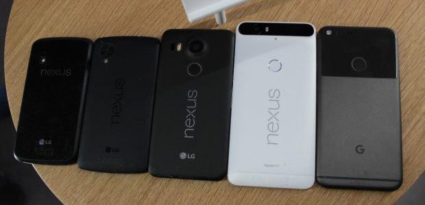 Die Entwicklung von Nexus-Geräten ist bis auf Weiteres auf Eis gelegt - im Fokus liegt die Pixel-Reihe. (Foto: t3n)