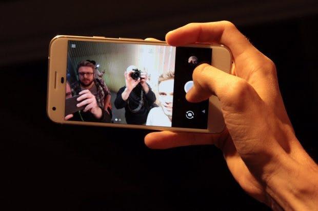 Android 7.1 Nougat bringt für das Google Pixel allerhand exklusive Kamera-Funktionen. (Foto: t3n)