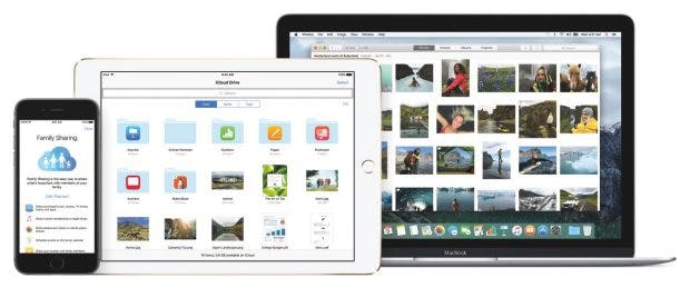 iCloud: Apple will Cloud-Dienste verbessern. (Foto: Apple)