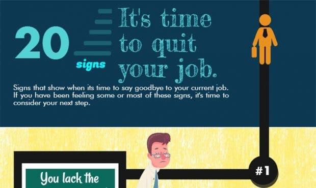 Job kündigen – oder lieber doch nicht? (Infografik: Market Inspector)