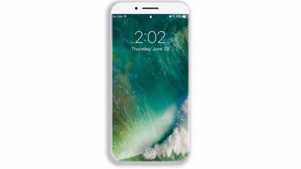 Die Front des Samsung Galaxy S8 soll vollständig ohne Bezel sein – beim iPhone 8 soll Apple genauso vorgehen. (iPhone-8-Konzept: Veniamin Geskin)