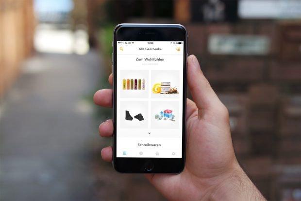 So sieht die Joidy-App aus. (Foto: t3n)