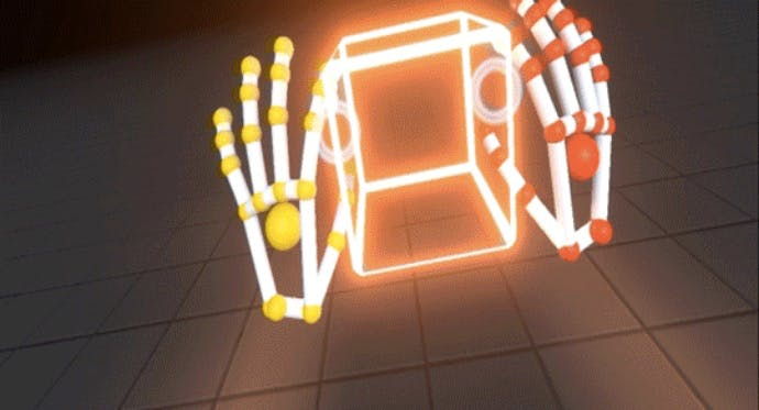 Virtual-Reality-Gestensteuerung: Leap Motion zeigt neue Interaction Engine live im Einsatz
