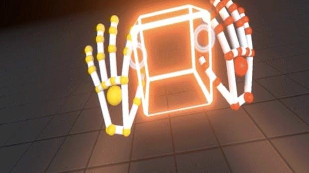 Virtual-Reality-Gestensteuerung: Leap Motion zeigt neue Interaction Engine live im Einsatz
