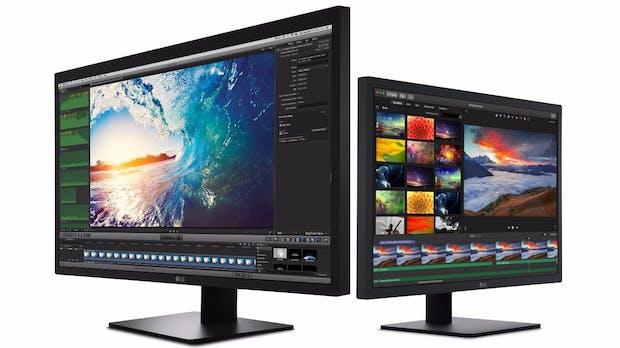 Für die neuen Macbook Pro: LG Ultrafine-Displays mit 4K- und 5K-Auflösung ab sofort bestellbar