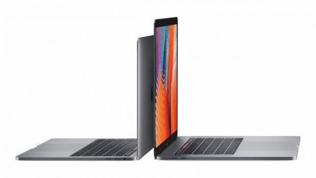 Das sind die neuen Macbook Pro mit Touchbar. (Foto: Apple)