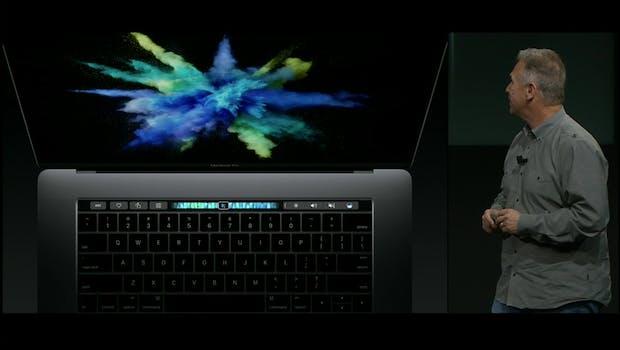 Unter Entwicklern tendenziell unbeliebt: Die Touchbbar des Macbook Pro.  (Bild: Apple)