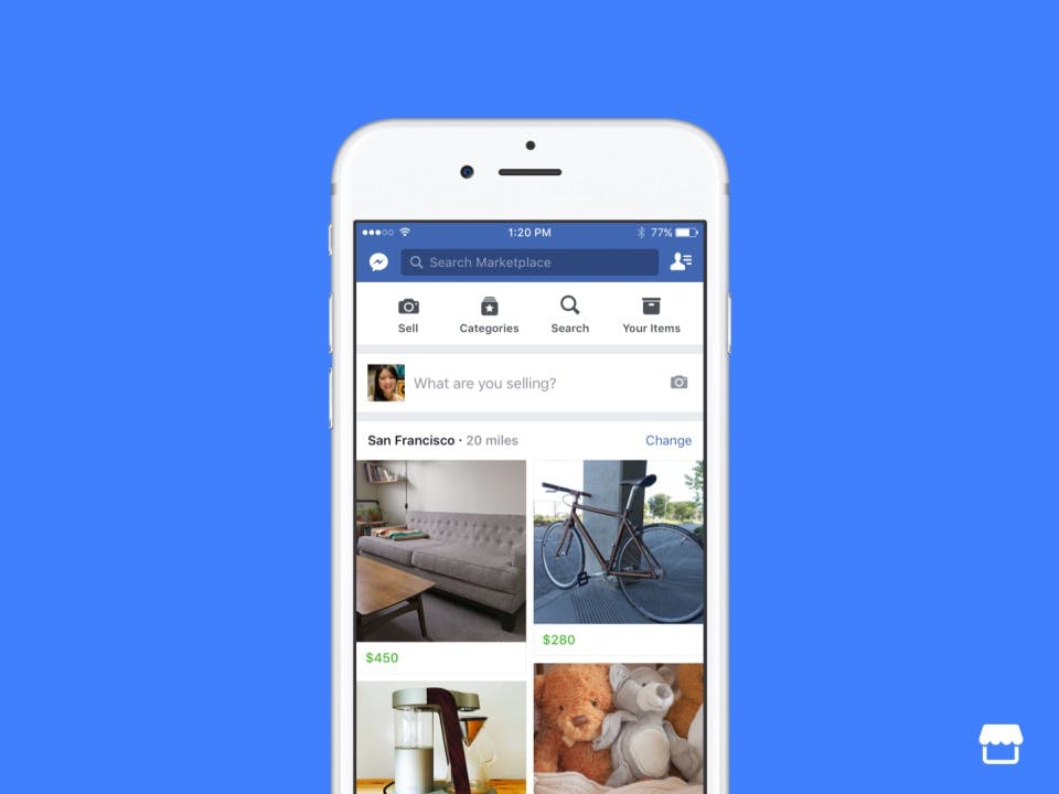 Ebay-Kleinanzeigen-Killer? Facebook startet Online-Flohmarkt Marketplace