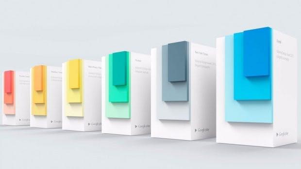 Die Material Design Awards wurden im letzten Jahr zum ersten Mal vergeben. (Bild :Google)