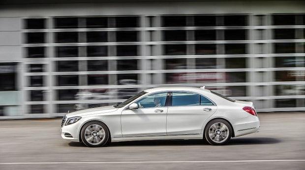 Mercedes-Benz: Hybrid der S-Klasse bekommt 2017 drahtlose Ladeoption