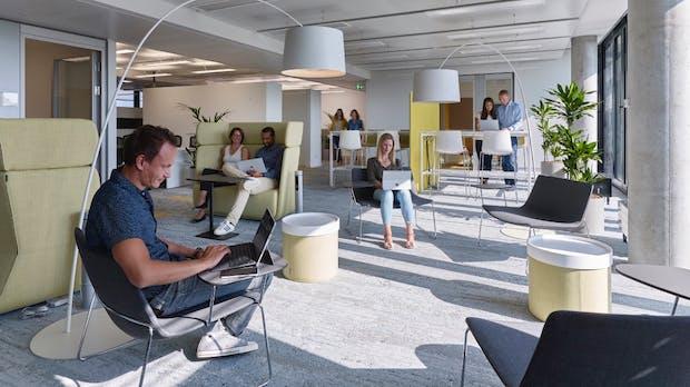 Zu Besuch bei Microsoft: So arbeitet es sich in der neuen Deutschlandzentrale