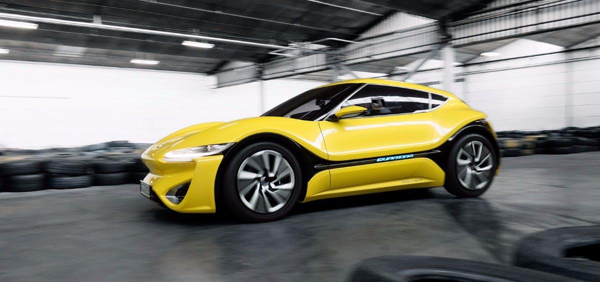 Der Quantino von Nanoflowcell: Kann der Wagen wirklich halten, was der Hersteller verspricht? (Foto: Nanoflowcell)