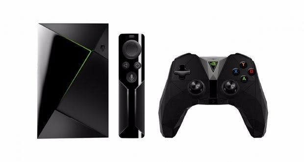 Die Streaming-und Gaming-Box Nvidia Shield TV (2017) wird als erstes mit dem Google Assistant ausgestattet. (Bild: Nvidia)