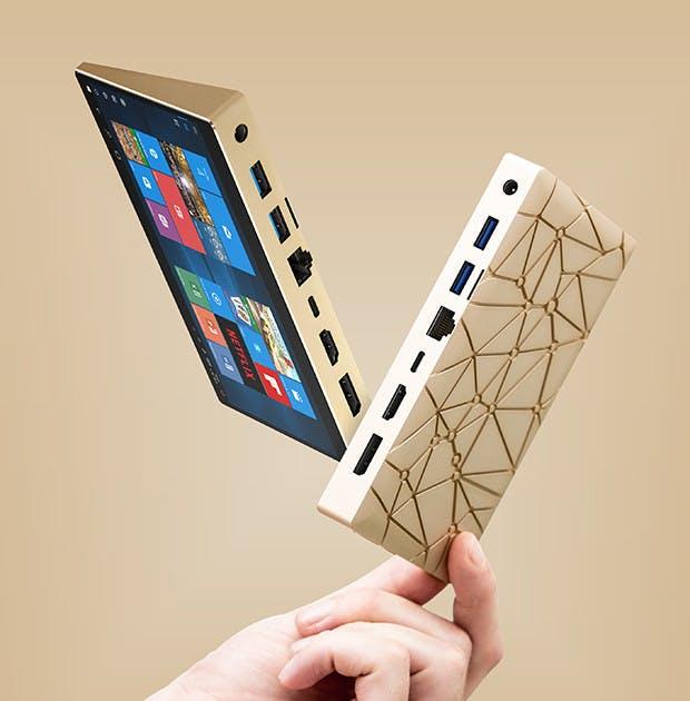 Sirius A: Mini-PC soll Tablet, TV-Box und Desktop-Rechner ersetzen. (Foto: Ockel Computers)