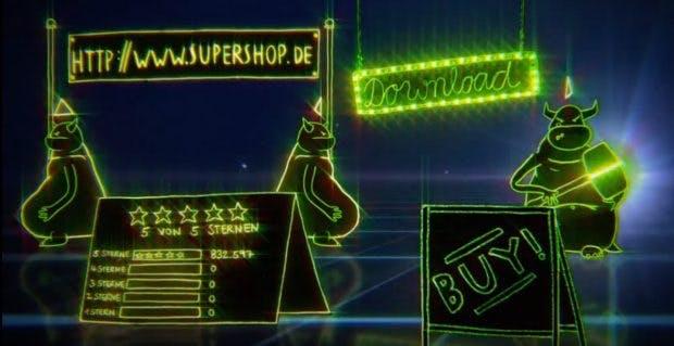 Online-Shopping: Erklärfilm soll Verbraucher vor Fake-Shops warnen. (Screenshot: Youtube/VZ Niedersachsen)
