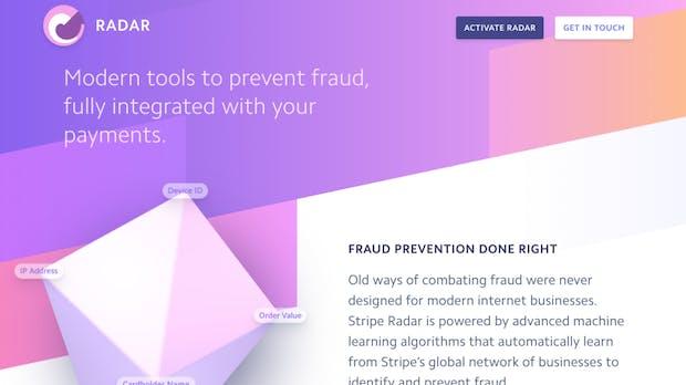 Radar: Stripe geht mit Künstlicher Intelligenz gegen E-Commerce-Betrug vor