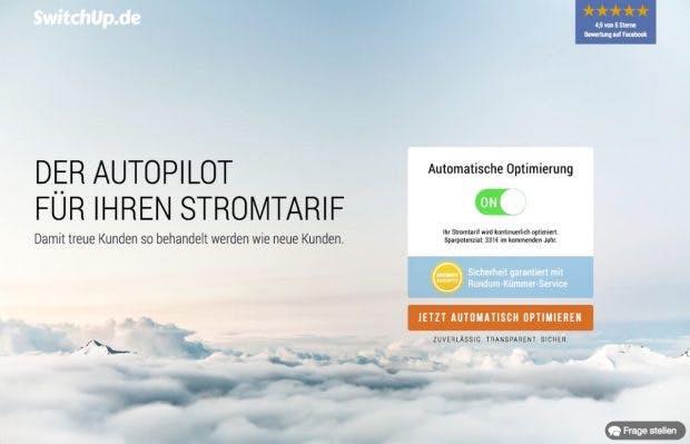 Audible-Gründer Arik Meyer hat mit Switchup noch einiges vor. (Screenshot: Switchup)