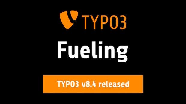 TYPO3 8.4 ist da – das ist neu