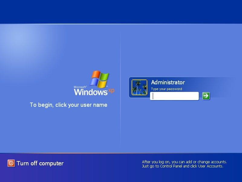 An diesem Moment kam niemand vorbei – der Sign-in-Prozess. (Screenshot: opthek.com)