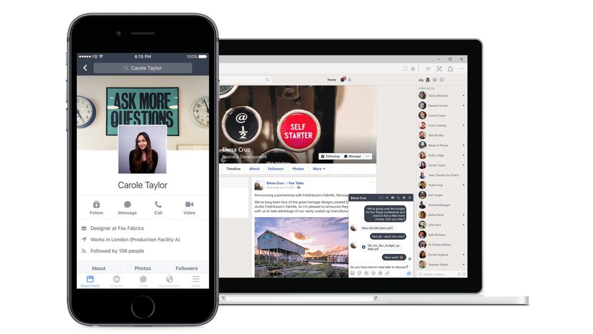 Workplace: Facebook startet neues Social Network für Unternehmen